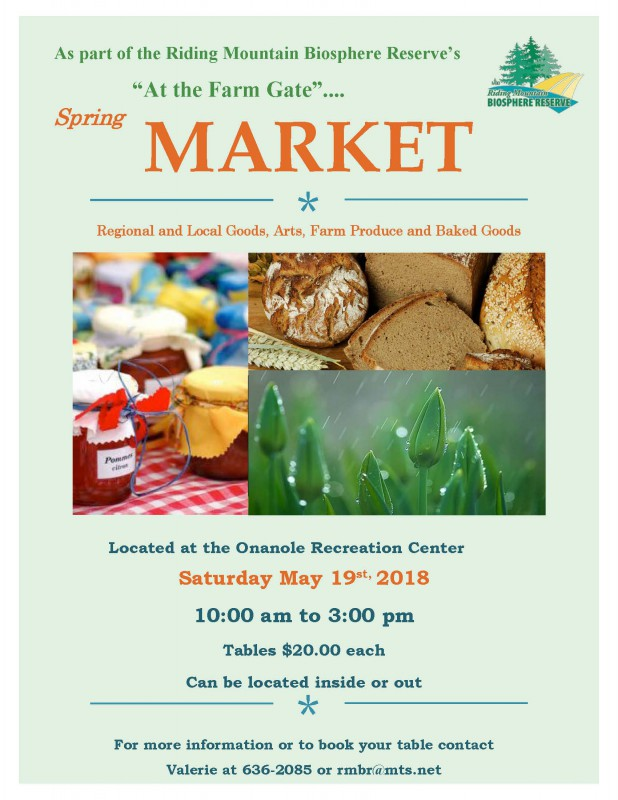 At the Farm Gate Market Poster - May 2018